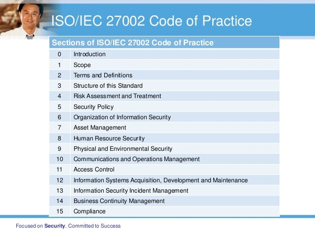 implementing a security framework based on iso  iec 27002