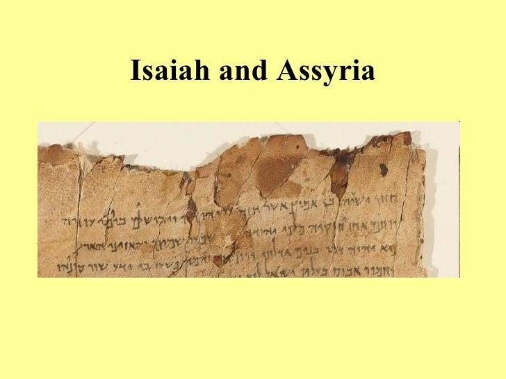 Isaiah and Assyria