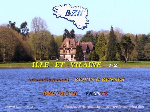 ILLE - ET - VILAINEILLE - ET - VILAINE 1-21-2 ArrondissementArrondissement REDONREDON && RENNESRENNES BRETAGNEBRETAGNE FRF...