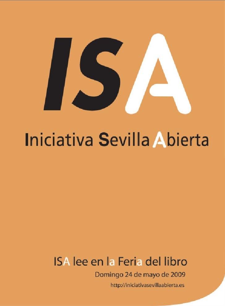 Iniciativa Sevilla Abierta                                       Libertad                                   Racionalidad  ...