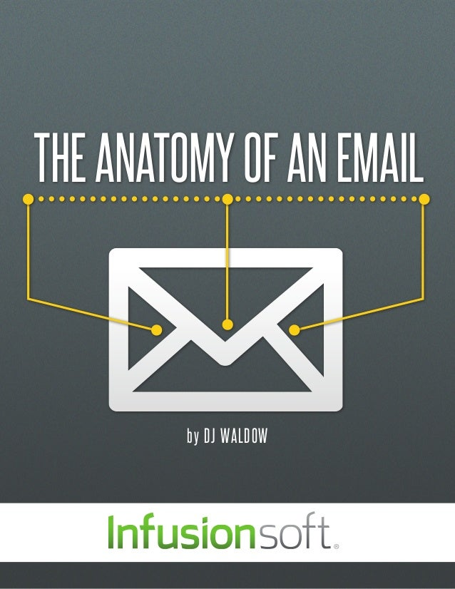 THE ANATOMY OF AN EMAIL         by DJ WALDOW