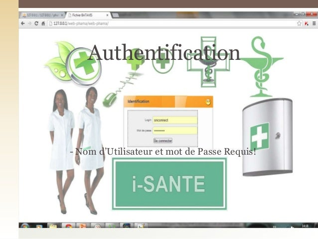 - Nom d'Utilisateur et mot de Passe Requis!Authentification