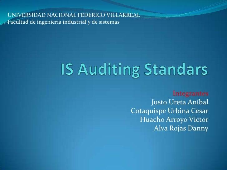 UNIVERSIDAD NACIONAL FEDERICO VILLARREALFacultad de ingeniería industrial y de sistemas                                   ...