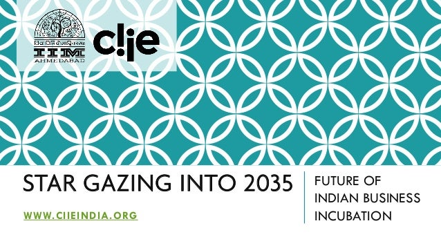 STAR GAZING INTO 2035 FUTURE OF INDIAN BUSINESS INCUBATIONWWW.CIIEINDIA.ORG