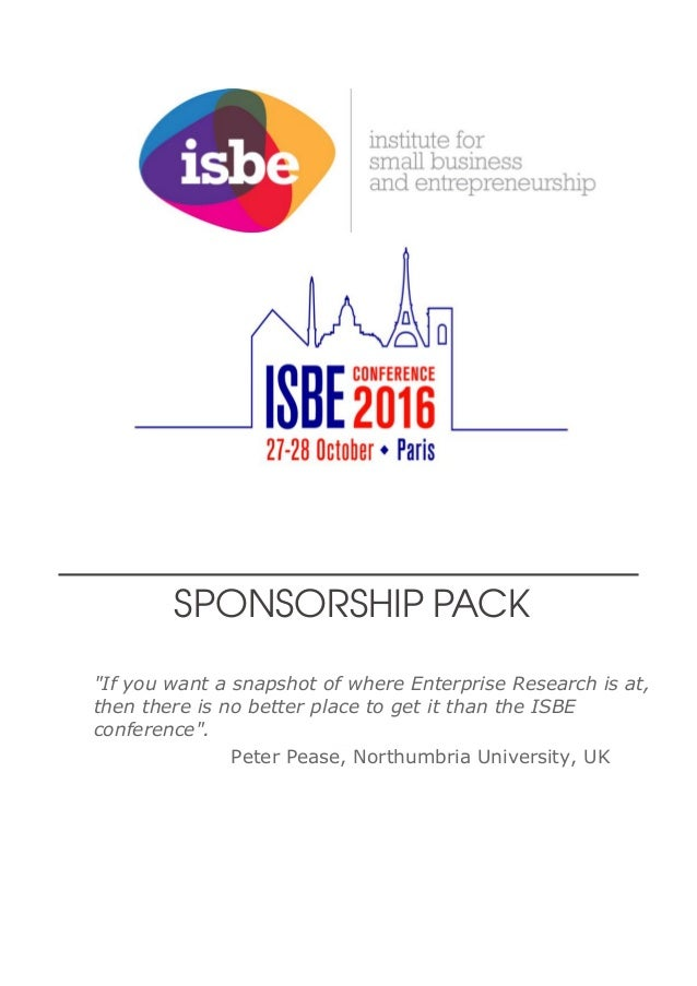"""Great debates, open discussion and an eye for the future. ISBE is thinking on its feet and making research relevant."" And..."
