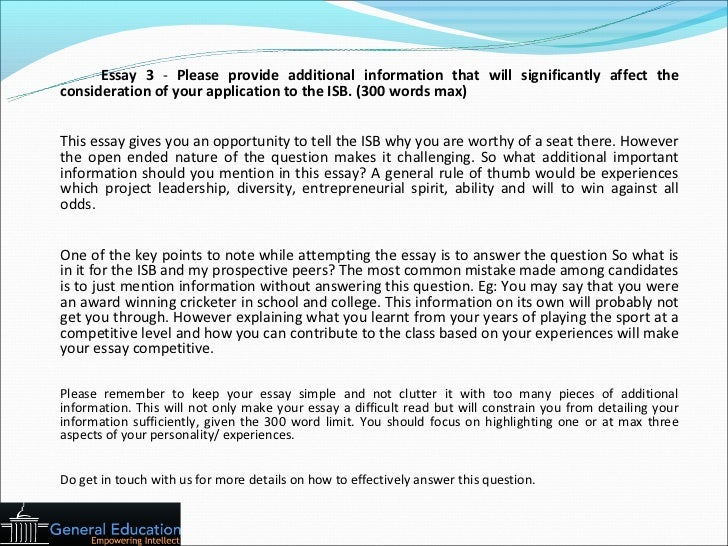 isb essays 2012 analysis Indian school of business isb essay topics essay topic analysis 2011-2012 read isb pgp essay analysis from expert consultants for essay question number 2.