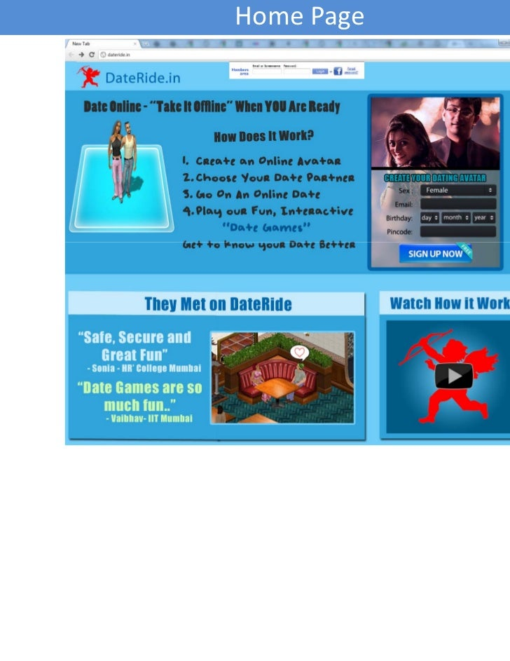 Idate online interactive dating game