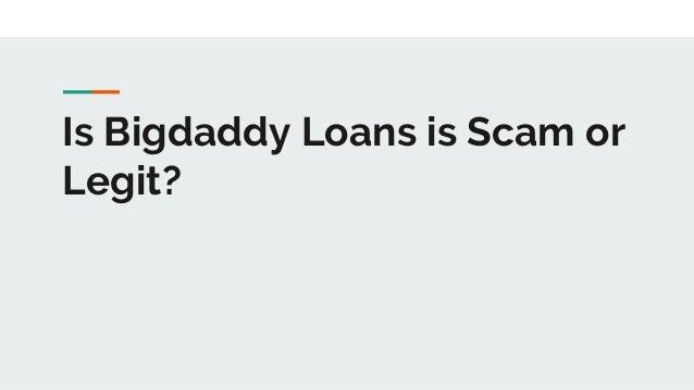 Big Daddy Loans