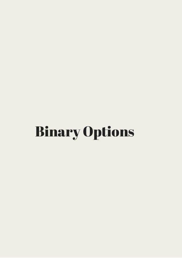 Binary option easy
