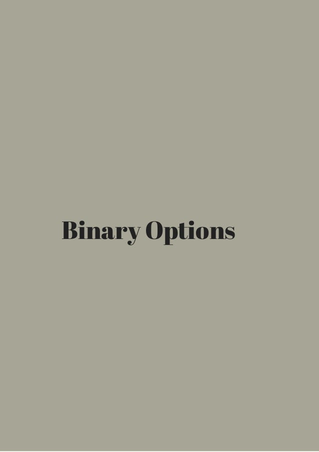 Are binary options legal in canada crude oil binary options