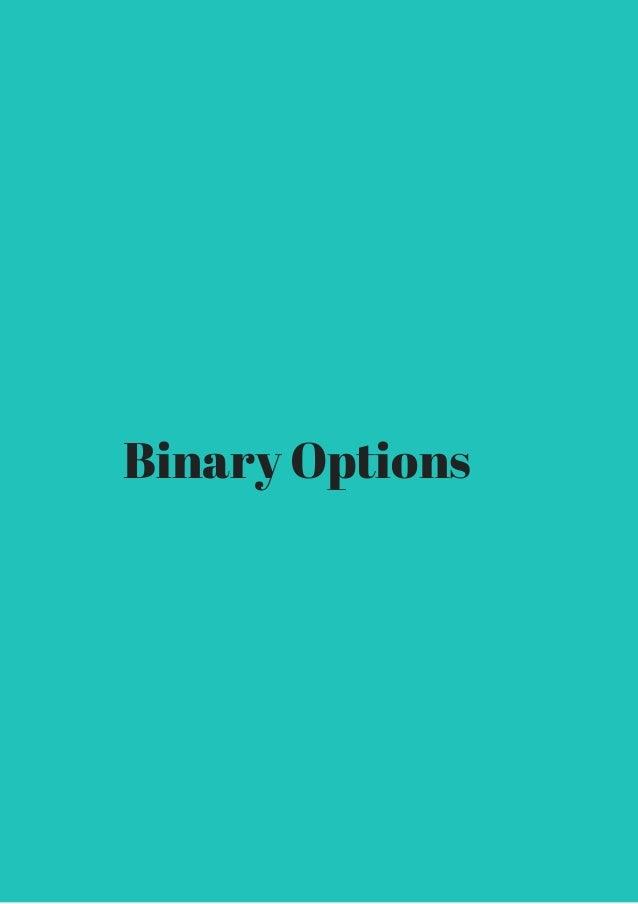 Binary options united states regulation