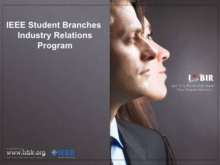 IEEE Student Branches  Industry Relations Program
