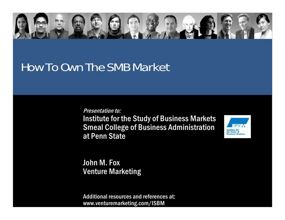 How to own the SMB market