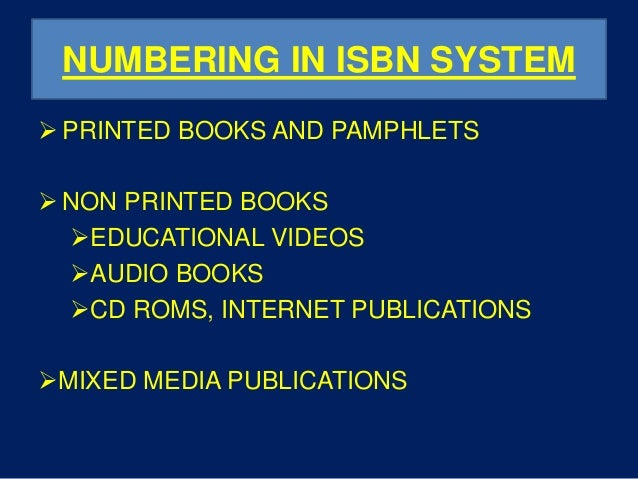 how to get isbn number for book