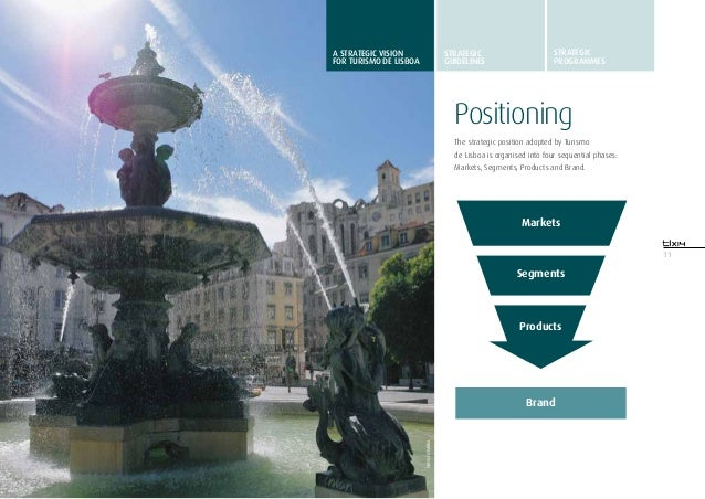 11PositioningThe strategic position adopted by Turismode Lisboa is organised into four sequential phases:Markets, Segments...