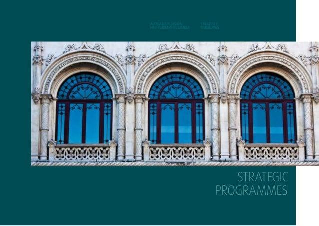 27strategicprogrammesA STRATEGIC VISIONFOR TURISMO DE LISBOASTRATEGICGUIDELINESSTRATEGICprogrammes