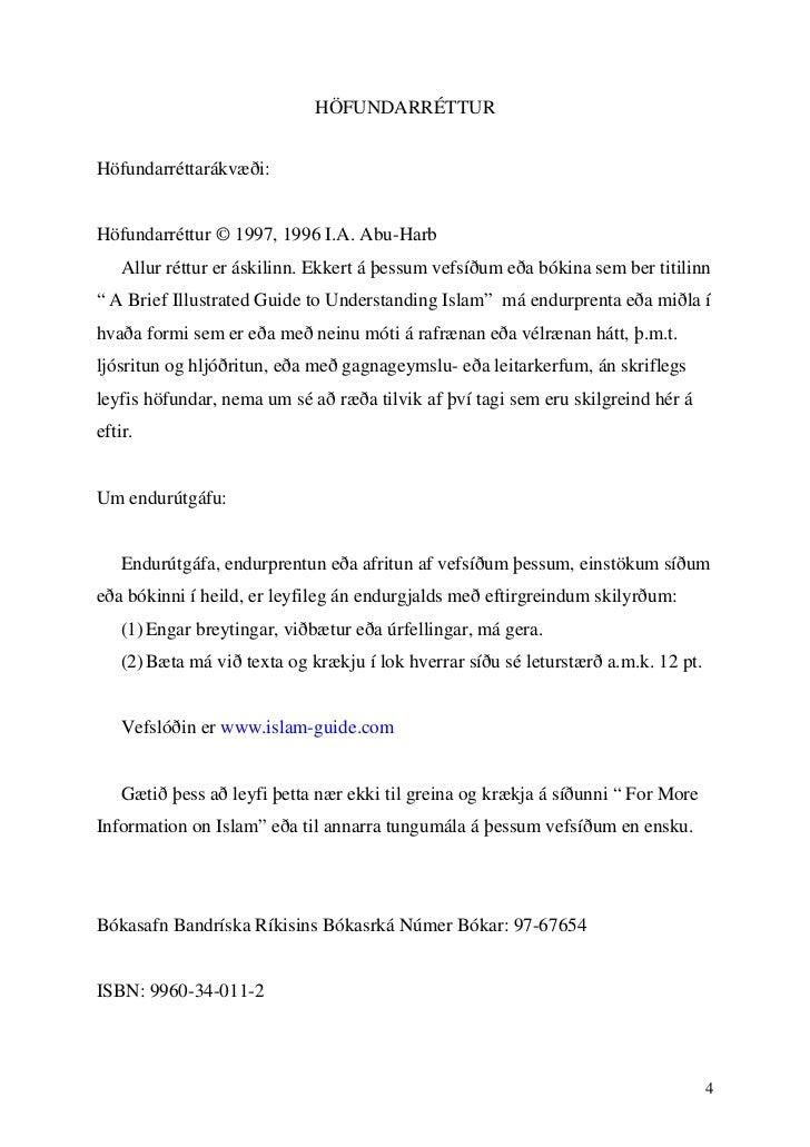 HÖFUNDARRÉTTURHöfundarréttarákvæði:Höfundarréttur © 1997, 1996 I.A. Abu-Harb    Allur réttur er áskilinn. Ekkert á þessum ...