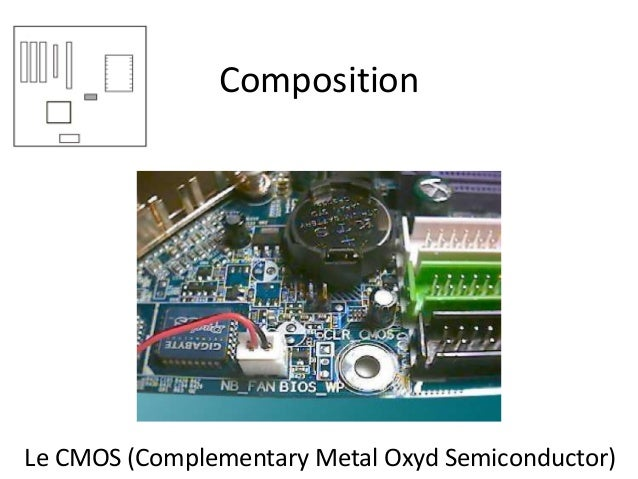 Composition Le CMOS (Complementary Metal Oxyd Semiconductor)