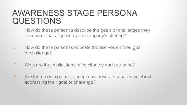Company: Recruiting firm Persona: VP of Sales at a technology company Questions to ask: 1. How do these personas describe ...