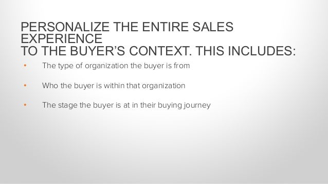 Take an inventory of your existing content Reference the buyer at least 2x as much as you mention yourself End all emails ...