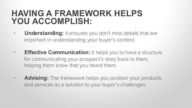 • Understanding: It ensures you don't miss details that are important in understanding your buyer's context. • Effective...