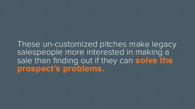 EXPLORE Transition into exploratory mode instead of pitch mode when a buyer expresses interest INBOUND vs. Transition righ...
