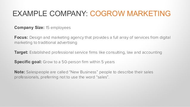 BUYER'S JOURNEY: COGROW MARKETING The potential buyer realizes that the old ways of getting new clients are getting less a...