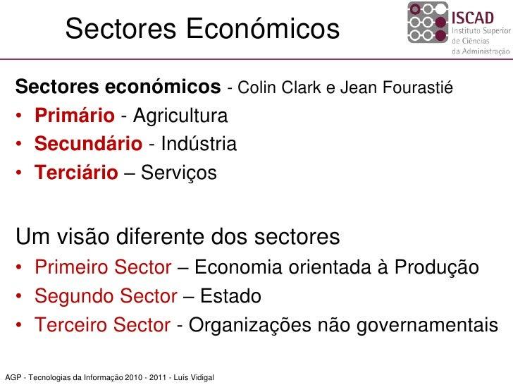 Iscad ti 2010_2011_1 - sociedade da informação_1_conceitos e sectores Slide 2