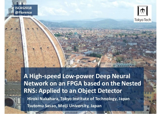 ISCAS'18: A Deep Neural Network on the Nested RNS (NRNS) on
