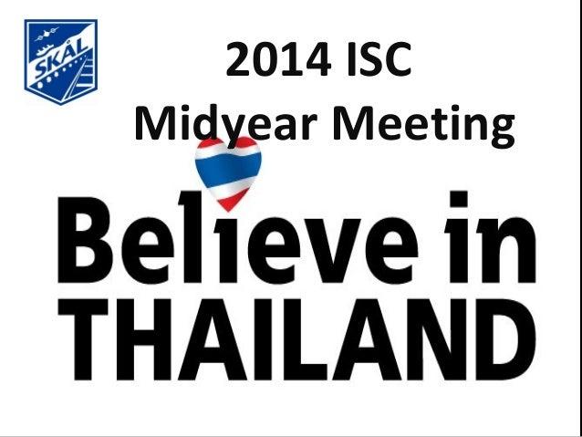 2014 ISC Midyear Meeting