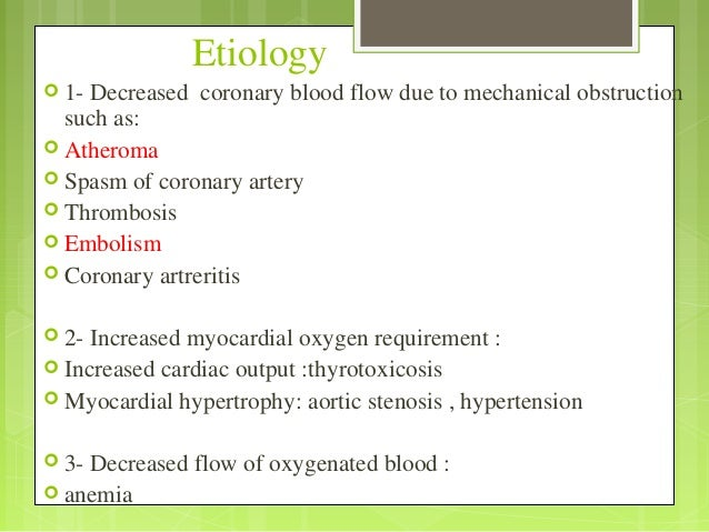 Mechanisms of blood flow in the