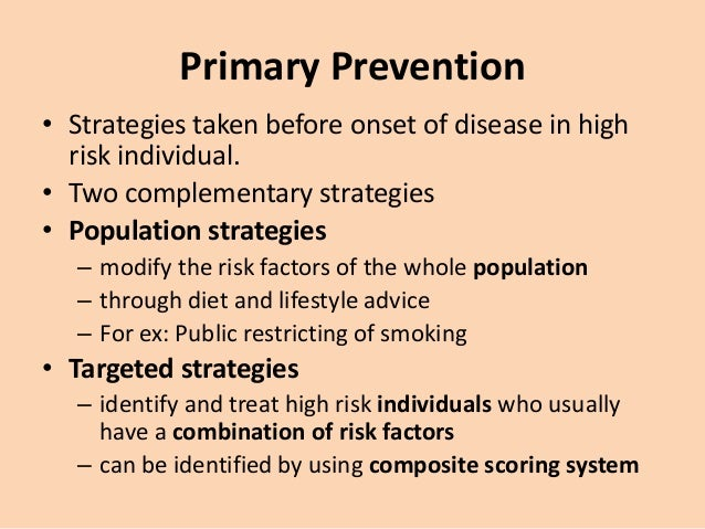 secondary prevention of coronary artery disease ppt