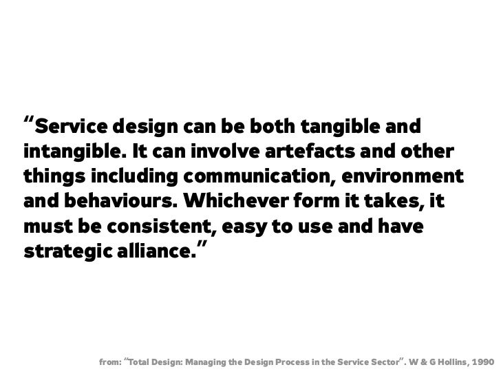 Designing the Intangible: an Introduction to Service Design
