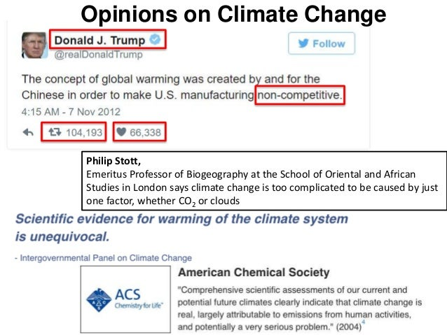 is climate change natural or man made Environmental damage  climate change  we now know that man-made climate change is real and that it poses a great threat to the planet and its inhabitants.