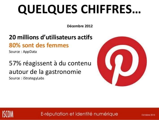 QUELQUES CHIFFRES… Mars 2012  25 millions d'utilisateurs 2 milliards de check-in  86% d'utilisateurs quotidiens, 48% check...