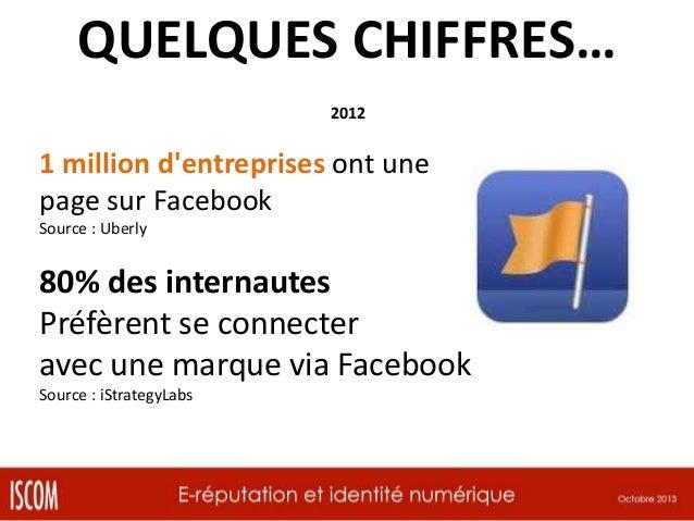 QUELQUES CHIFFRES… Octobre 2012  +50% des twittos et twittas suivent au moins une marque Source : Twitaholic