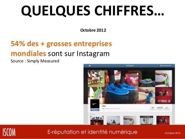 QUELQUES CHIFFRES… Octobre 2012  78% des entreprises affirment que les réseaux sociaux sont essentiels à leur croissance S...