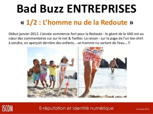 Bad Buzz ENTREPRISES « 2/2 : Opportunité des concurrents » Qqs jours après… sur le site des 3 Suisses :