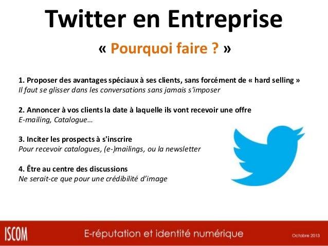 Et Twitter à l'école ?  Et Tumblr ?... http://jesuisaliscom.tumblr.com/
