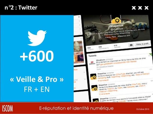 n°3 : Google+  +300 « Geek & Fun » FR + EN  xxx