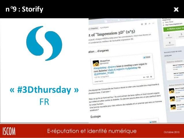N°10 : Scoop.it!  « Veille » FR + EN  xxx