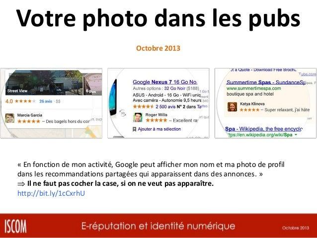 Confidentialité & Facebook « Facebook libère le partage de contenus des ados » Octobre 2013 Facebook a introduit un nouvea...