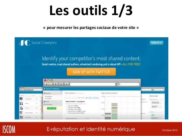Les outils 2/3 « ReputationVIP : gestion de crise et problème d'e-réputation »