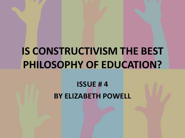 constructivist theory of knowledge in the curriculum Constructivism guided the curriculum framework, where knowledge, process   however, as in many cases, practice and theory arrived at an.