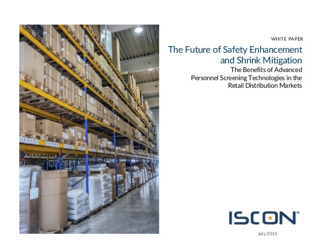 Iscon Imaging Personal Security Screening White Paper
