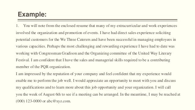 Importance of Cover Letter – Literary Cover Letter