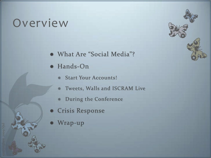 """Overview                                  What Are """"Social Media""""?                                                       ..."""