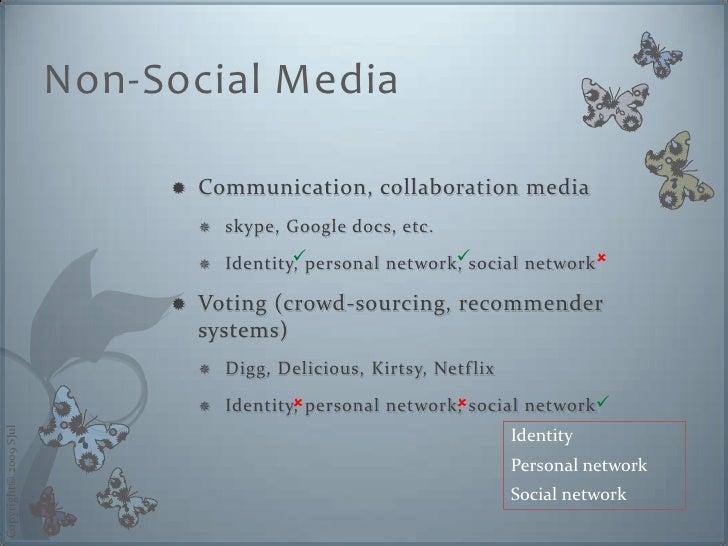 Non-Social Media                                  Communication, collaboration media                                     ...