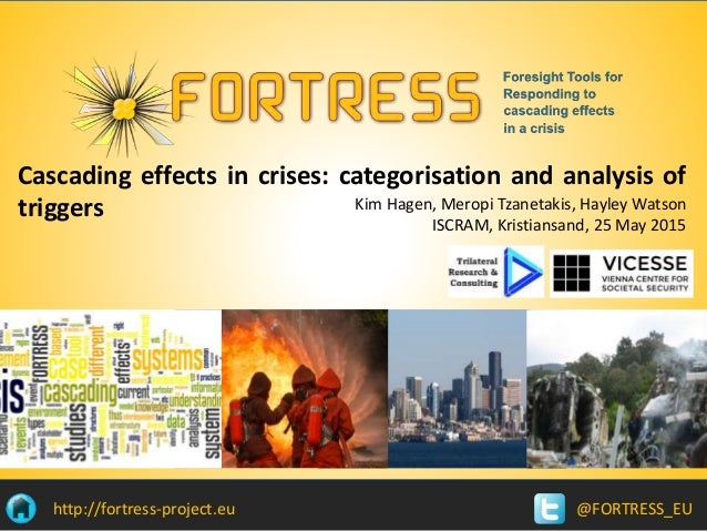 @FORTRESS_EUhttp://fortress-project.eu Cascading effects in crises: categorisation and analysis of triggers Kim Hagen, Mer...
