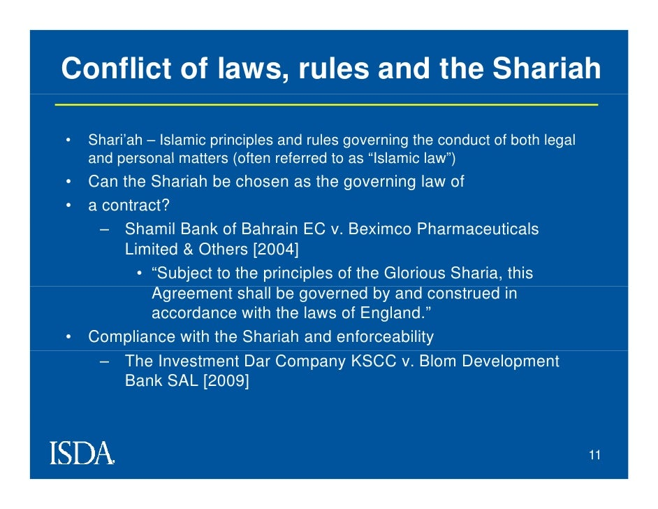 shamil bank of bahrain ec v Shamil bank, an islamic bank based in bahrain, entered into the islamic commercial contract for the financing of the defendant bangladeshi pharmaceutical companies and the bank brought legal action after the defendants defaulted on payment.